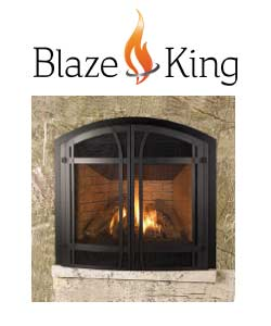 Blaze King Gas Fireplace