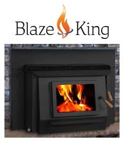 Blaze King Wood Fireplace