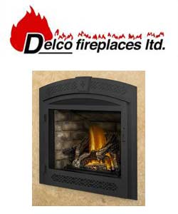 Delco Gas Fireplace