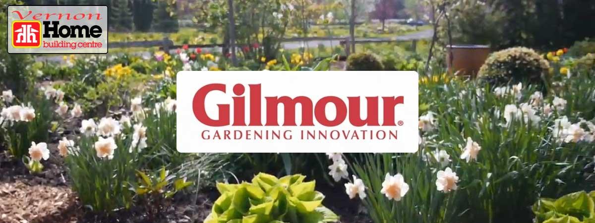 Home Building Centre Gardening Supplies - Gilmour Brand Banner