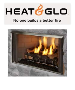 Heat N Glo Outdoor Gas Fireplace