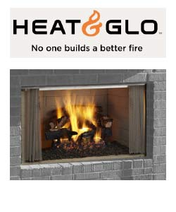 Heat N Glo Outdoor Wood Fireplace