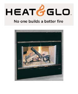 Heat N Glo Wood Fireplace