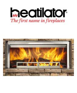 Heatilator Wood Fireplace