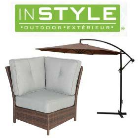 InStyle Outdoor Furniture and Logo