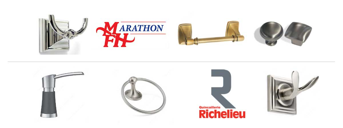 Marathon Fasteners And Richelieu Bath Accessories Product Banner