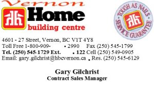 HBC Gary Gilchrist Business Card