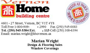 Home Building Center-Marian Wright Business Card
