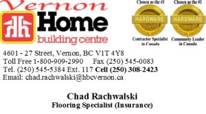 Home Building Centre-Chad Rachwalski Business Card