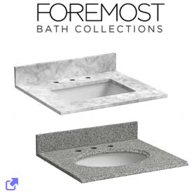 Foremost Vanity Tops