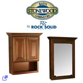 Rock Solid Supply - Stonewood Medicine Cabinets