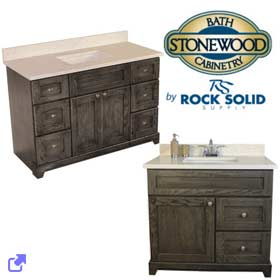 Rock Solid - Stonewood Cabinetry Vanities