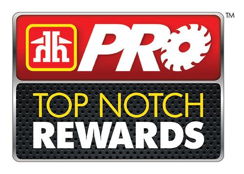Pro Top Notch Reward Logo