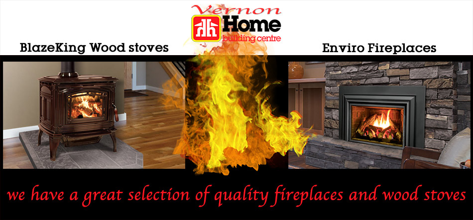 Blaze King Stoves Enviro Fireplaces Display Promo Ad
