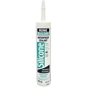 Home Builder 300ml translucent-multipurpose waterproof silicone sealant