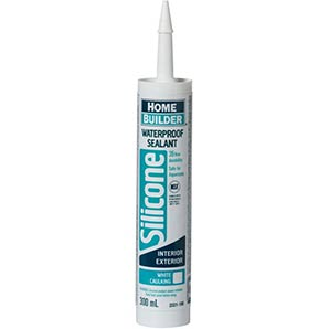 Home Builder - 300ml white-multipurpose-waterproof silicone sealant