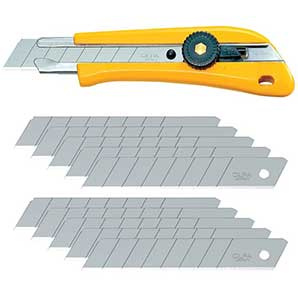 OLFA 18mm Heavy Duty Snap-Off Blade Utility Knife